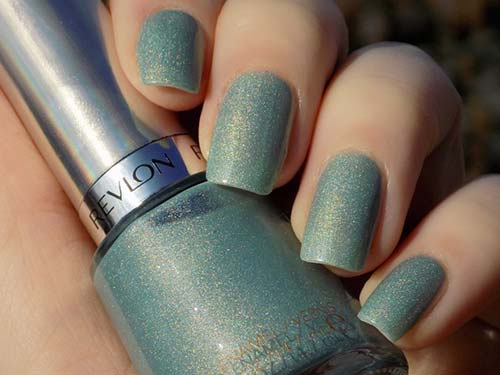 "8. Revlon Holochrome Nail Enamel In 115 ""Fairy Dust"" - Best Drugstore Nail Polish"