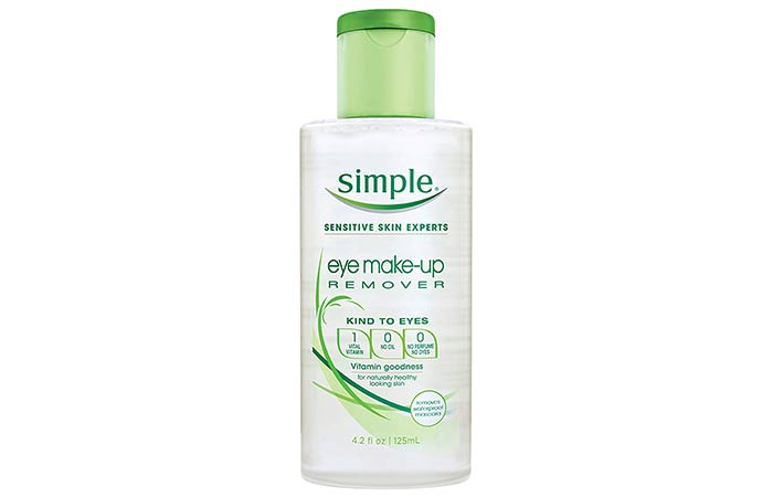 8. Simple Eye Makeup Remover