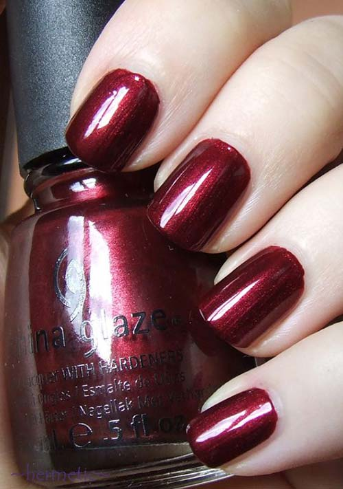 "9. China Glaze Nail Polish In ""Heart of Africa"" - Best Drugstore Nail Polish"