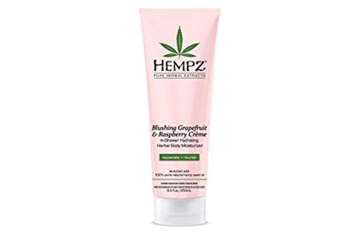 In-Shower Body Lotion - Hempz In-Shower Hydrating Body Moisturizer