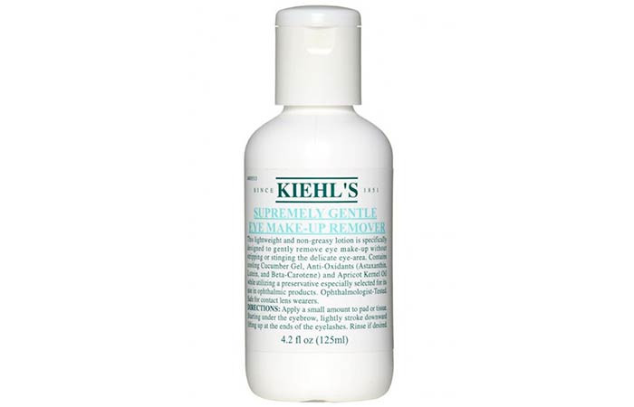 9. Kiehl's Supremely Gentle Eye Makeup Remover