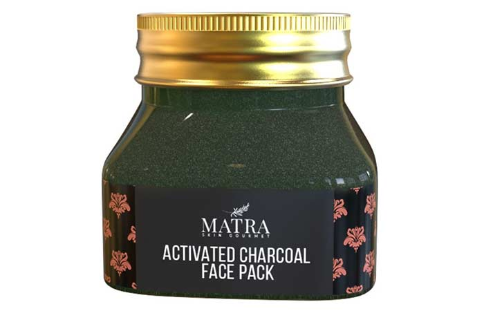 9. Matra Activated Charcoal Face Pack