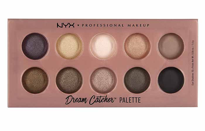 NYX Dream Catcher Palette in Dusk Til' Dawn