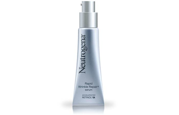 9. Neutrogena Rapid Wrinkle Repair Serum With Retinol