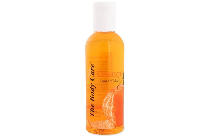 9. The Body Care Orange Peel Off Mask