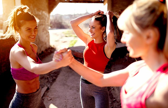 Stick To a Diet - Workout With A Partner Or A Group