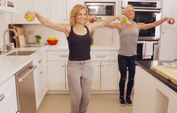 Candace Cameron's Weight Loss Exercise Routine
