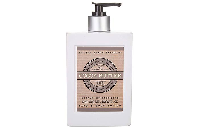 Delray Beach Skincare Cocoa Butter Hand And Body Lotion - Cocoa Butter Lotions