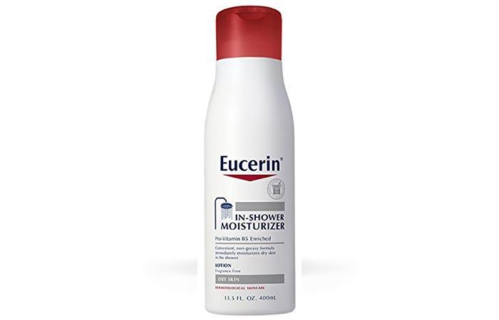 eucerin in shower moisturizer