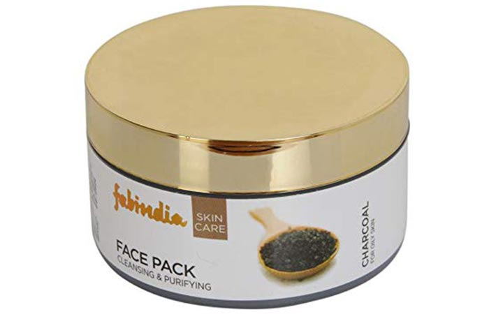 FabIndia Charcoal Cleansing & Purifying Face Pack