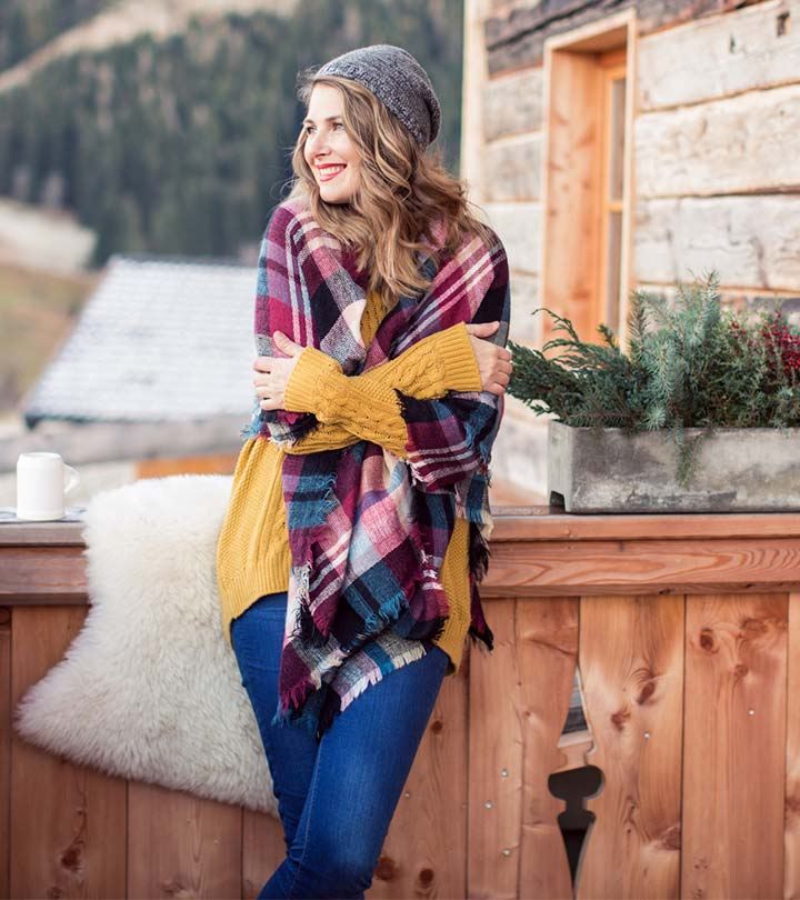 12 Ways To Wear A Blanket Scarf – A Complete Guide