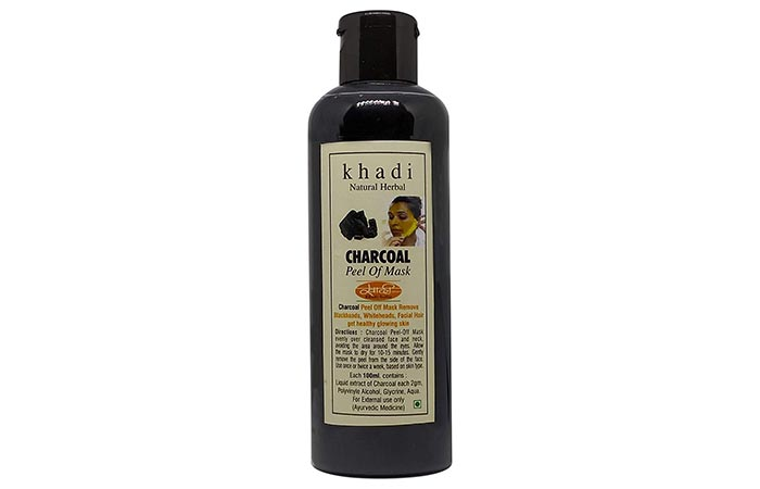 Khadi Charcoal Peel Off Mask