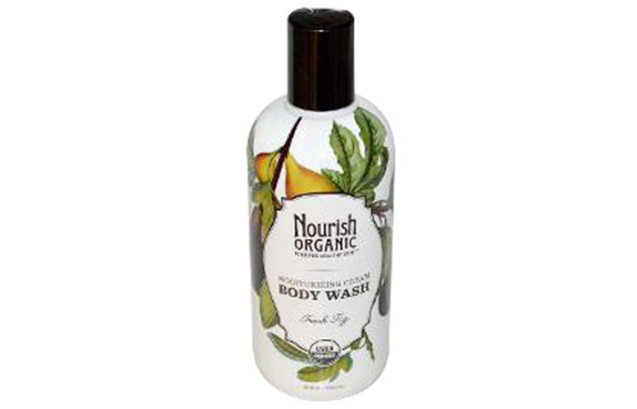 Nourish Organic Cream Body Wash - Organic Body Washes