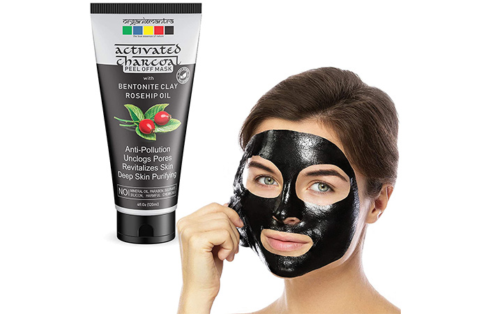 Organix Mantra Activated Charcoal Peel Off Mask