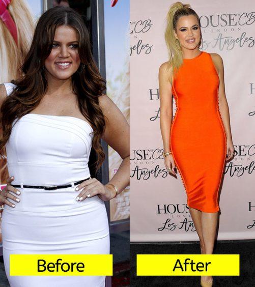 Revealed! How Khloe Kardashian Lost 40 Pounds