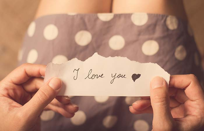 Say 'I love you.'