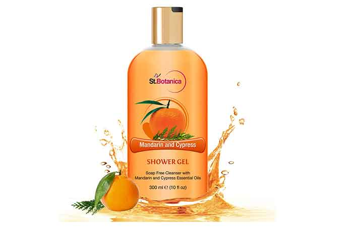 St. Botanica Mandarin & Cypress Luxury Shower Gel