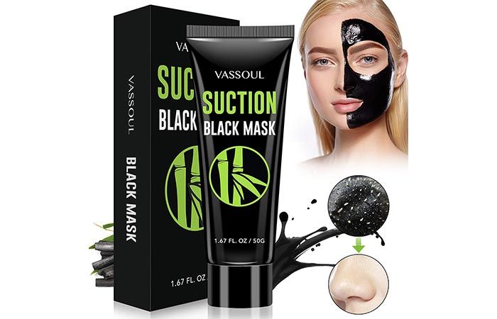 Vassoul Suction Black Mask