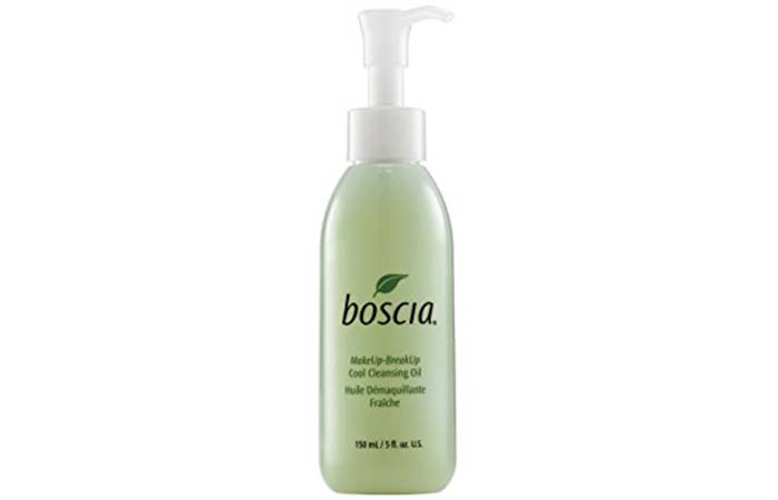 1. Boscia Cool Cleansing Oil