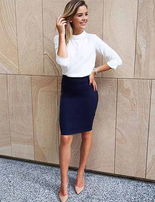 1. Business Formals With Ballerinas