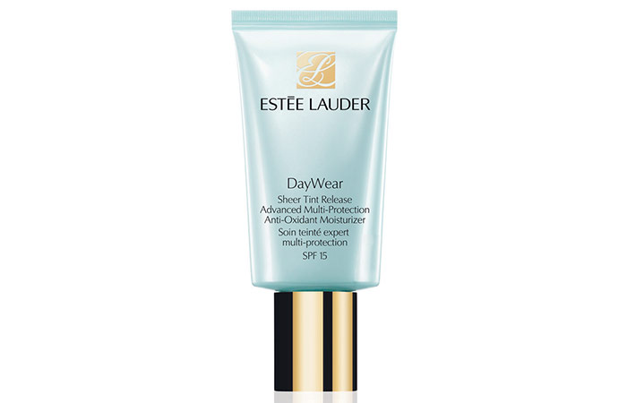 1. Estee Lauder DayWear Sheer Tint Release Advanced Multi-Protection Anti-Oxidant Moisturizer SPF 15