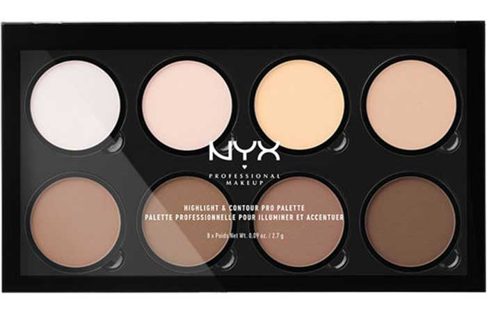 Best Drugstore Contour Kits - 1. NYX Highlight And Contour Pro Palette