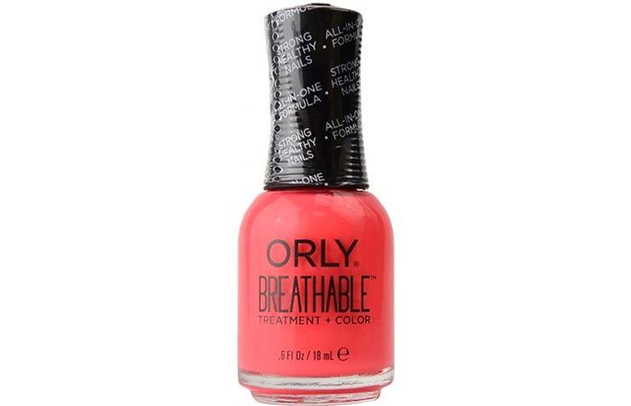 Best Non-Toxic Nail Polishes - 1. Orly Breathable Treatment + Color
