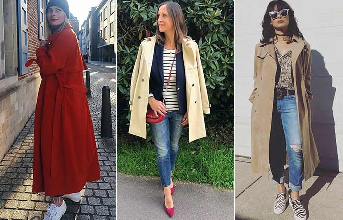 Types Of Jackets - Trench Coat