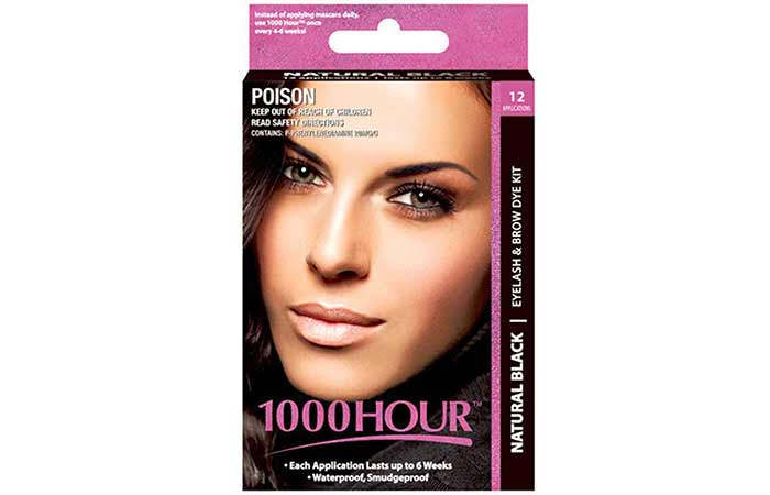 10. 1000 Hour Eyelash And Brow Tint Kit