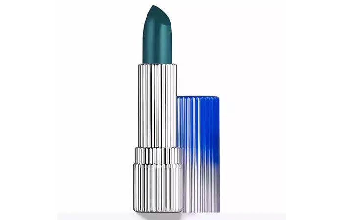 Best Blue Lipsticks - 10. Estee Lauder Mattified Lipstick In The Storm