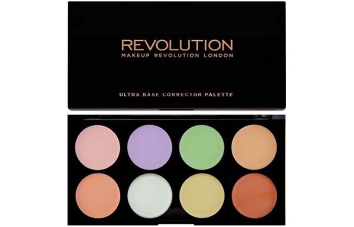 Best Concealer Palettes For Flawless Skin - 10. Makeup Revolution Ultra Base Corrector Palette