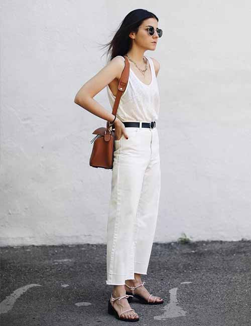 Style Your Mom Jeans - The White-Wash Look
