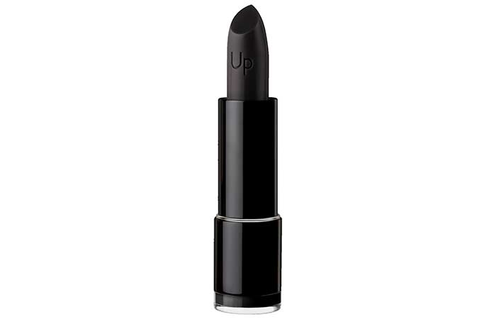 Best Black Lipsticks - 11. Black-Up In Satin Black
