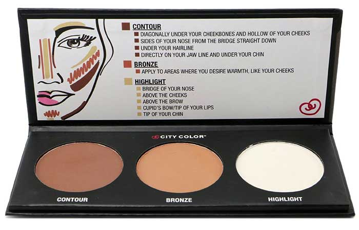 Best Drugstore Contour Kits - 11. City Color Cosmetics Contour Effects Palette