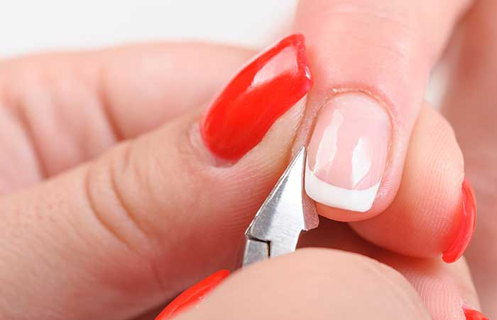 11. The Cuticles On Your Nails