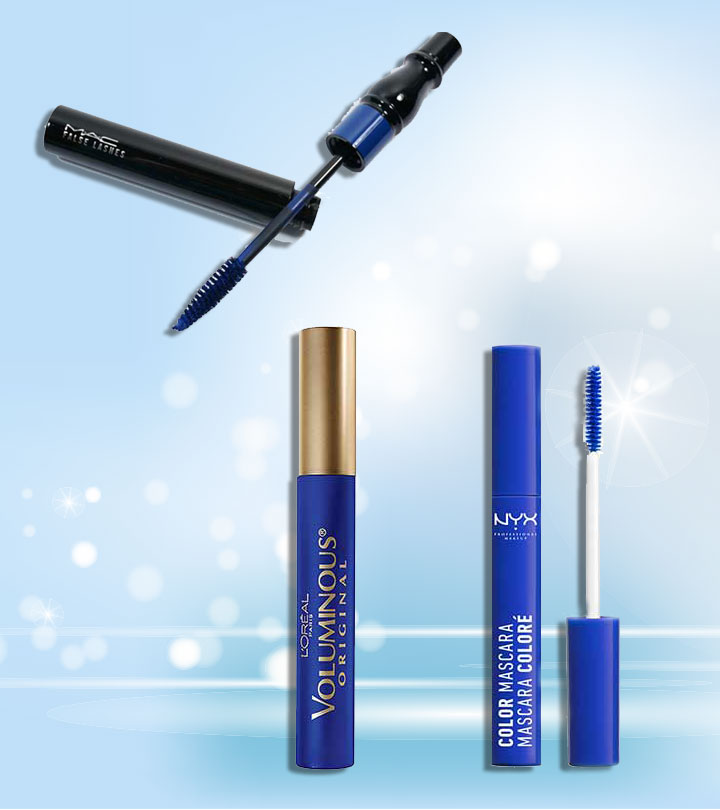 Best Blue Mascaras For Different Eyes