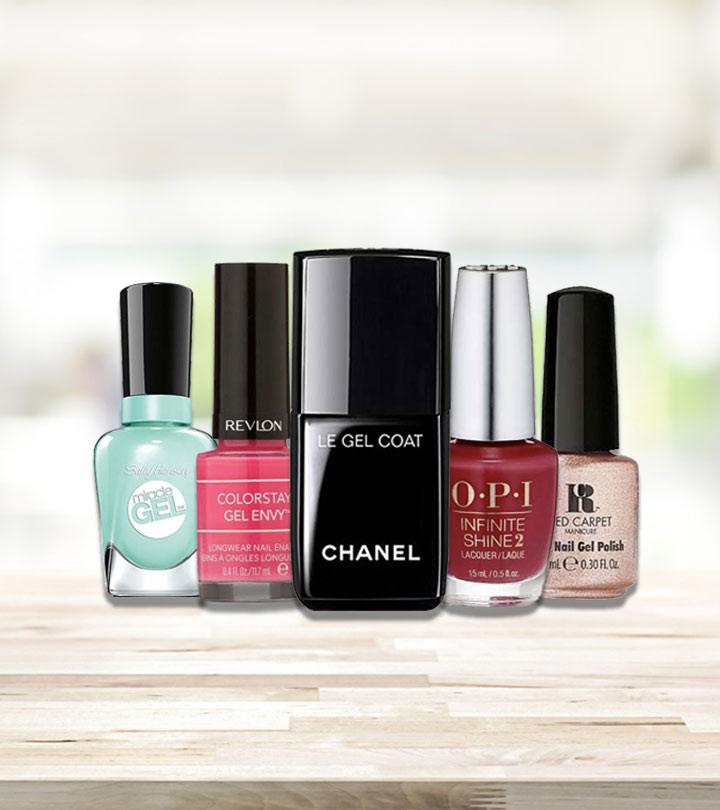 12 Best Gel Nail Polishes