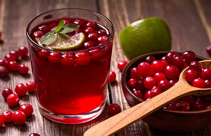 12. Cranberry Juice