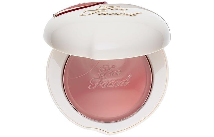 Top Selling Cream Blushes - 12. Too Faced Peach My Cheeks Melting Powder Blush