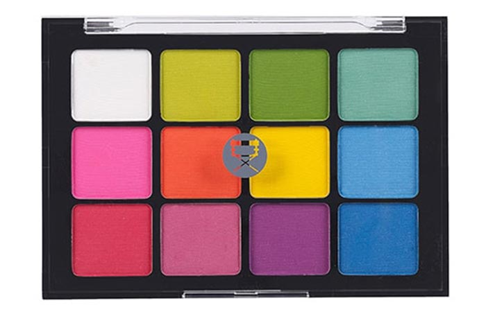 Best Selling Matte Eyeshadow Palettes - 12. Viseart Eyeshadow Palette Editorial Brights