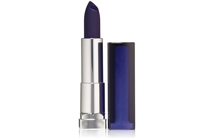 Best Blue Lipsticks - 13. Maybelline Color Sensational Loaded Bold Lipstick In Midnight Blue