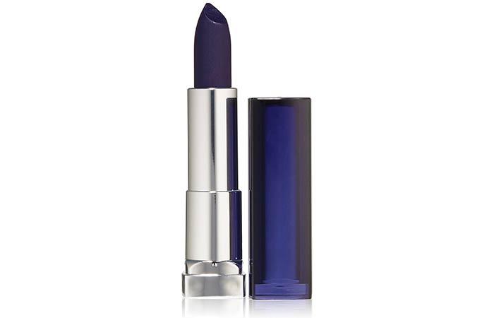 Best Blue Lipsticks - 13. Maybelline Color Sensational Loaded Bold Lipstick In Midnight Blue