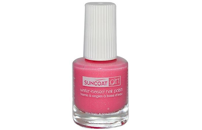 14. Suncoat Non Toxic Nail Polish