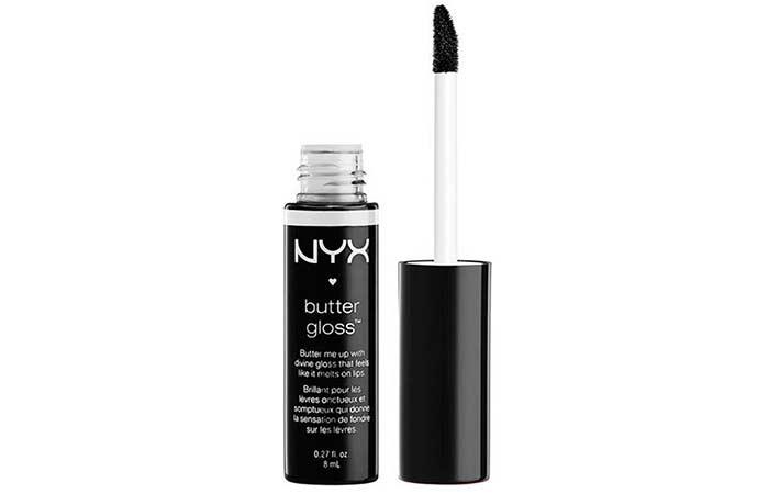 Best Black Lipsticks - 15. NYX Butter Gloss In Black Berry Pie