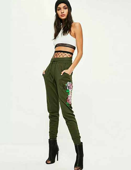 15. Printed Joggers