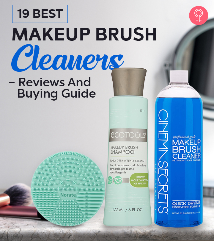 19 Best Makeup Brush Cleaners Of 2020 – Reviews And Buying Guide