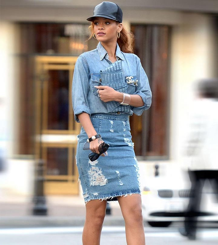 86a735b1383a9 19 Cute Denim Shirt Outfit Ideas