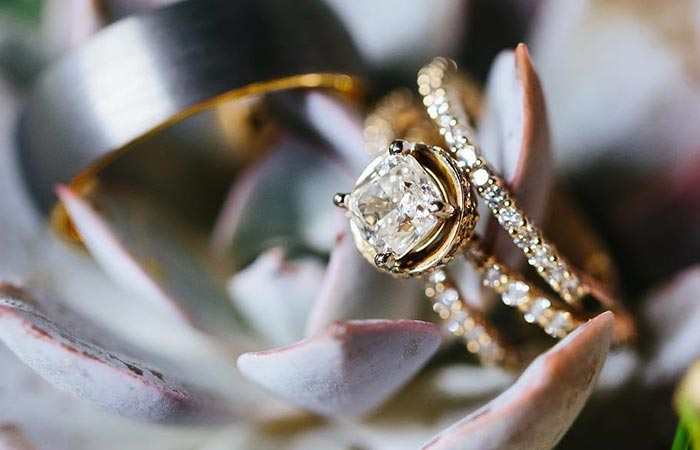 Unique Engagement Rings - A Band And A Ring
