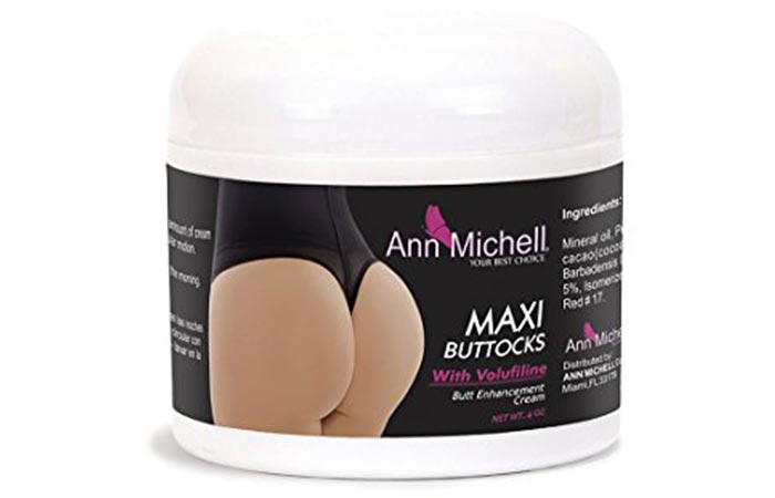2. Ann Michell MAXI Buttocks Enhancement Cream