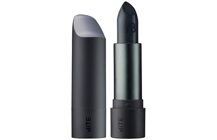 Best Blue Lipsticks - 2. Bite Beauty Amuse Bouche Lipstick In Squid Ink